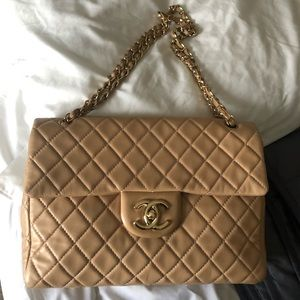 Chanel Soft Maxi single flap bag